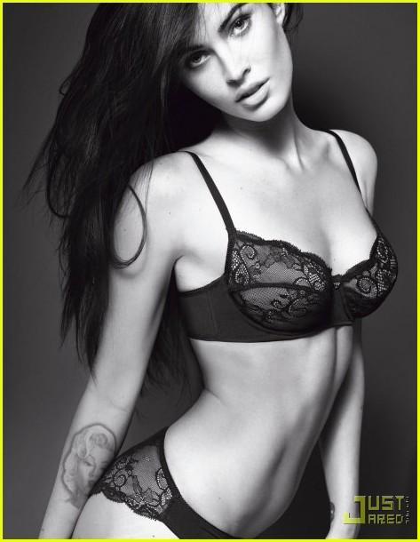 Megan Fox devient l'égérie de la marque Armani en 2010