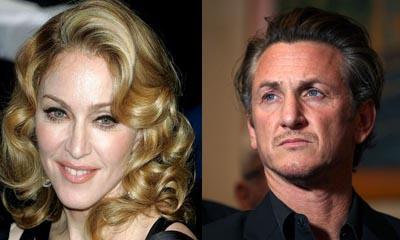 Madonna et Sean Penn ... long dîner entre exs !!
