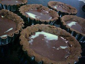 Tartelettes tout choco (Manou1983)