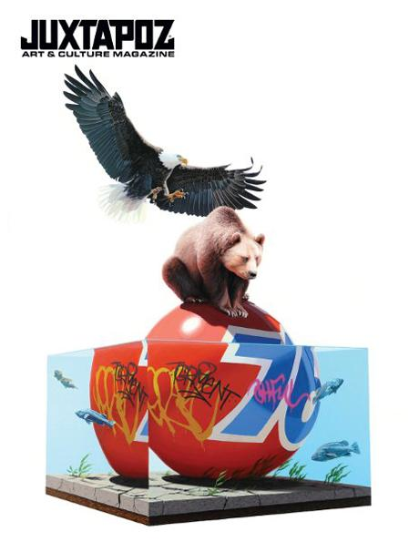 JUXTAPOZ #109 – FEBRUARY 2010