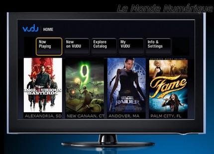 CES 2010 : LG intègre la plateforme de streaming multimédia Vudu sur ses TV 2010