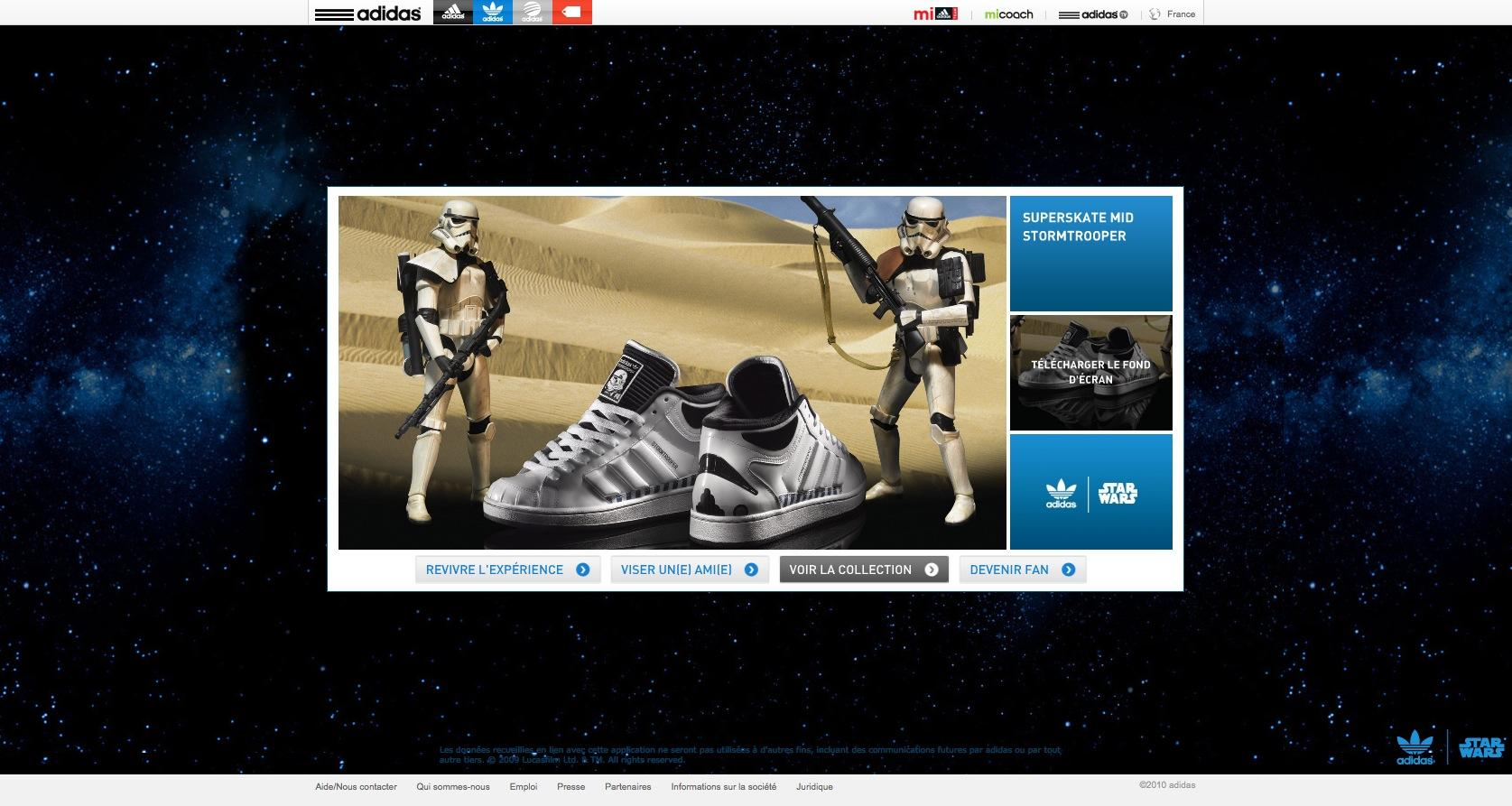 Adidas Star wars exclusive new video