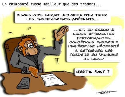 La Babole - Lula, chimpanzé russe : meilleurs résultats que les traders