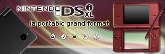 Nintendo : Une DSi XL