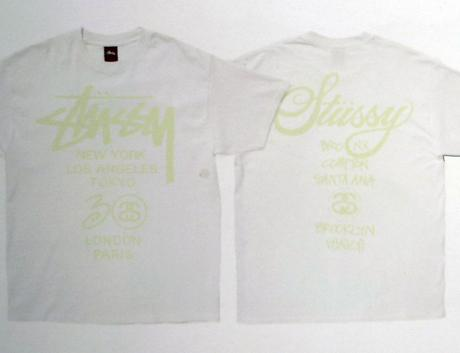 STUSSY – GITD XXX WORLD TOUR TEE