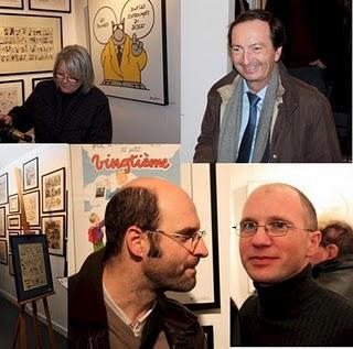 Exposition BD : vernissage réussi pour l'ouverture de la Galerie Petits Papiers à Paris