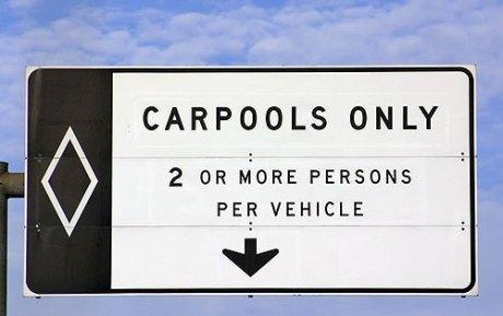 Aux Etats-Unis, des voies réservées et des parcs-relais pour le covoiturage