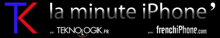 La minute iPhone