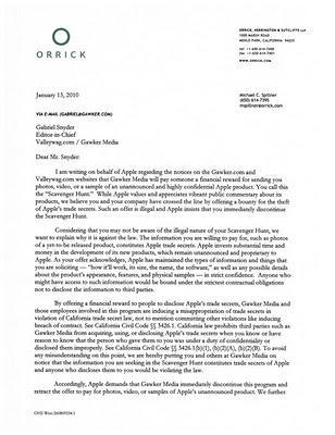 l'avocat d'Apple confirme iSlate !