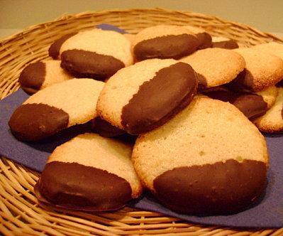 Palets aux Amandes et Chocolat
