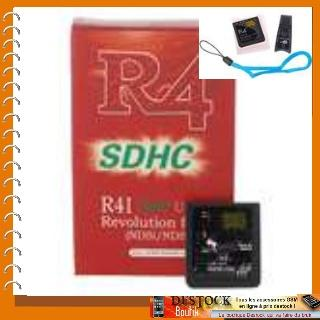 Linker R4i SDHC MicroSD Card Pour NDSi/NDS/DS Lite