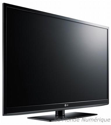 CES 2010 : LG équipe ses TV plasma de services connectés et adopte le sans fil