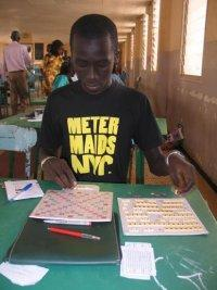 Jeune talent de Scrabble : Mamadou Yauck prend l'ascenseur