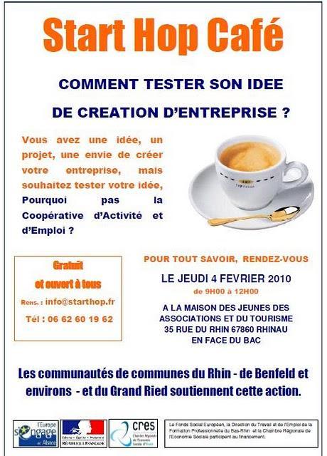 Starthop Café le 4 février à Rhinau