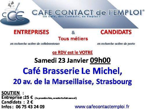 La Formule Snack Michel  du 23 janvier : 1 Café + 1 Emploi