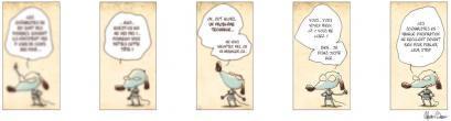 Epictète, chien philosophe : les faiblesses des scénaristes ? (10)