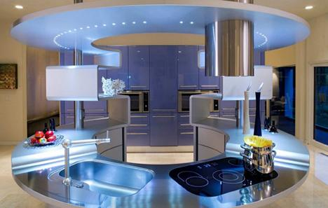 Des cuisines design paperblog for Cuisine futuriste