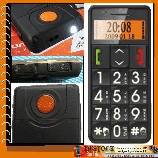ZTC L99 db, spécial personnes âgées ou enfants, simple, grosse touche avec bouton SOS et appel parents