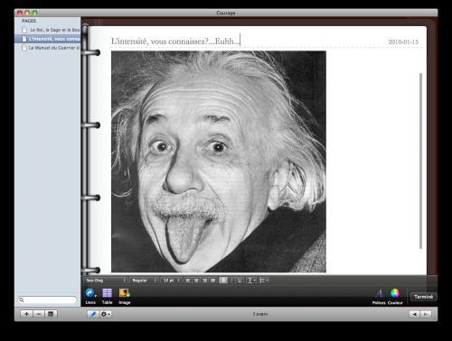 Thoughts Mac Aficionados Einstein