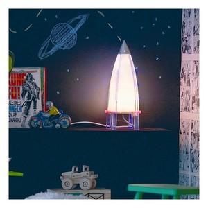 Spoutnik : une lampe de chevet enfant fusée