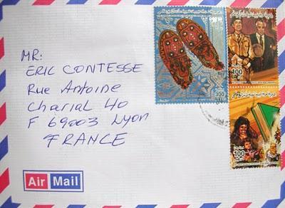 2 nouvelles lettres de Libye