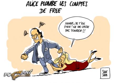 Alice n'arrive pas à séduire les français !