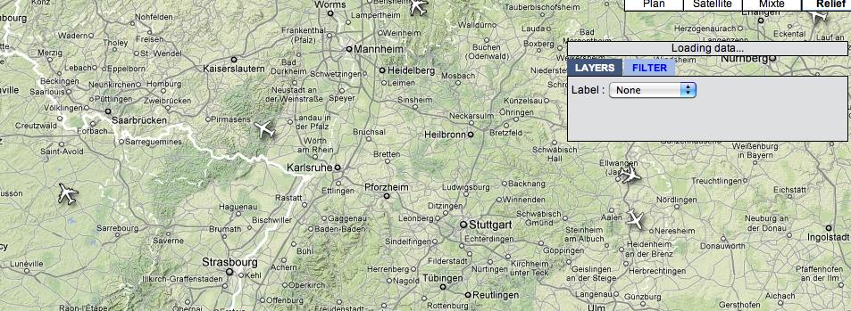 Strasbourg, suivez le traffic aérien en direct…
