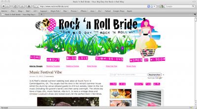 Rock 'n Roll Bride
