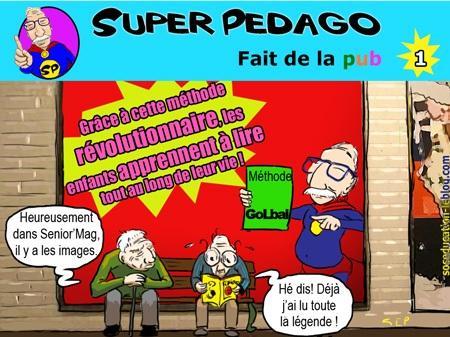 Super Pédago fait de la pub