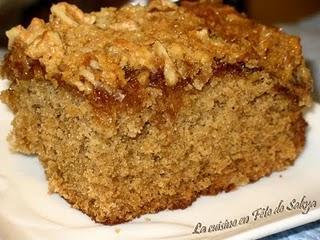 Gâteau Praline à l'Avoine
