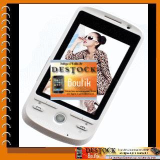 Dopod A8, Double sim, Bluetooth, Ecran tactile 16:9 WQVGA, à prix Destock !