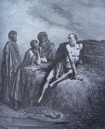 Job sur son fumier - Gustave Doré