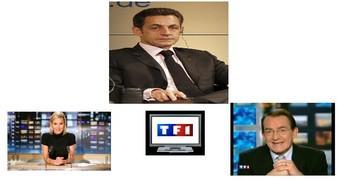 Le Président de la République face aux français sur TF1 le 25 Janvier. La veille de son déplacement en Corse