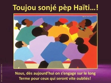 Trève de blablas sur Haïti...