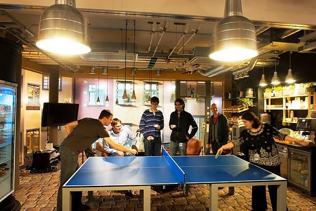 Les nouveaux bureaux de Google à Stockholm