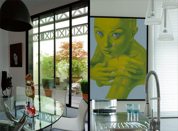 Un loft au style néo classique en France