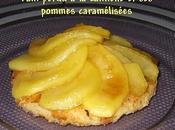 Pain perdu cannelle pommes caramélisées