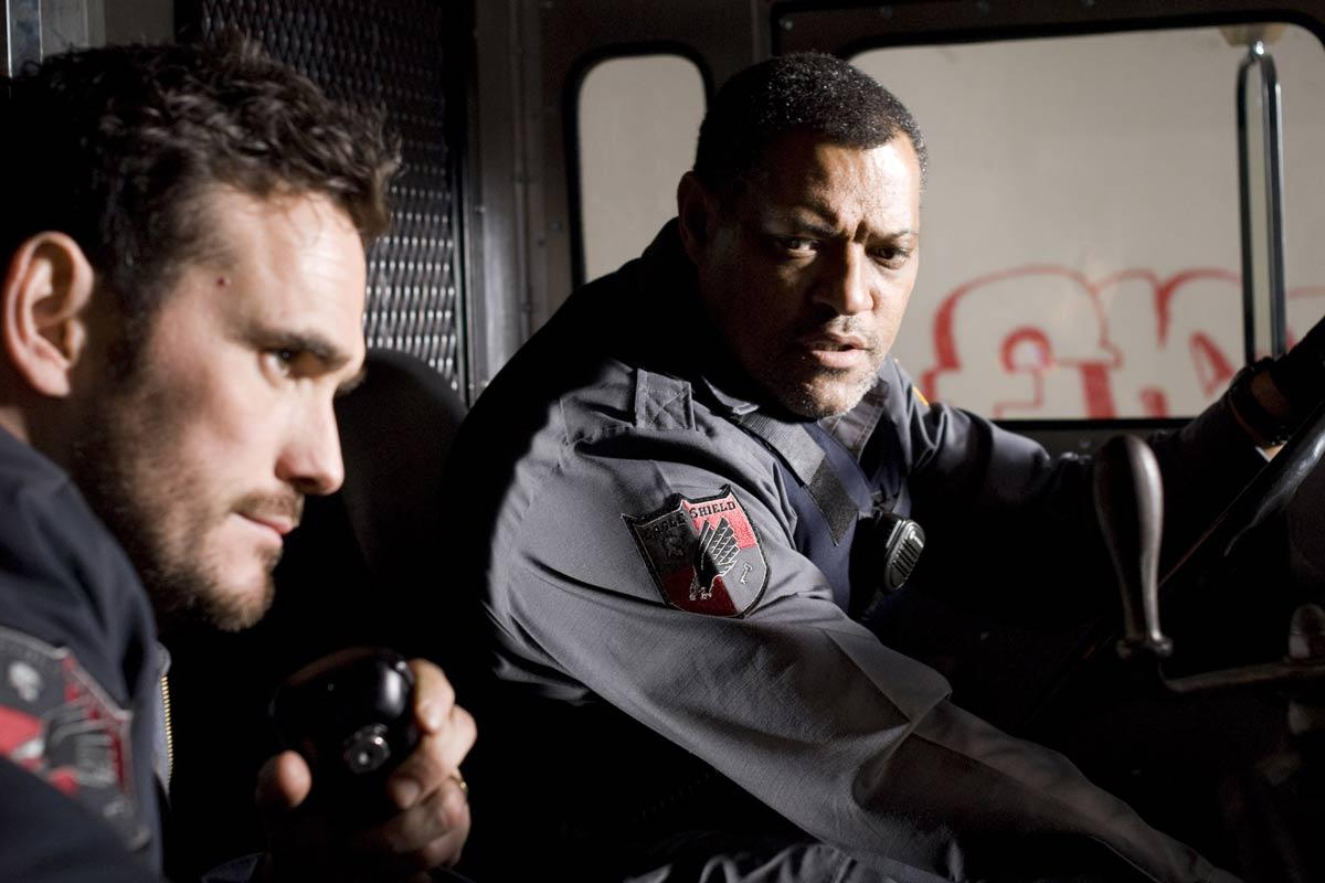 Matt Dillon et Laurence Fishburne. Sony Pictures Releasing France
