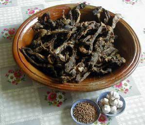 Kaddid (viande séchée)