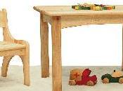 Pollution environnementale mobilier ecologique pour enfants