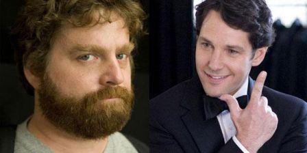 Zack Galifianakis et Paul Rudd