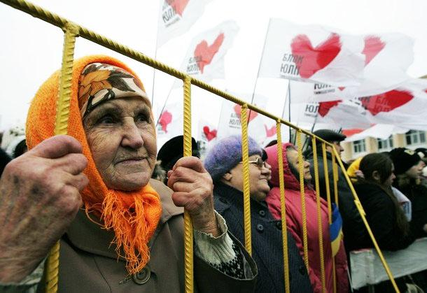 peuple ukrainien devant son choix