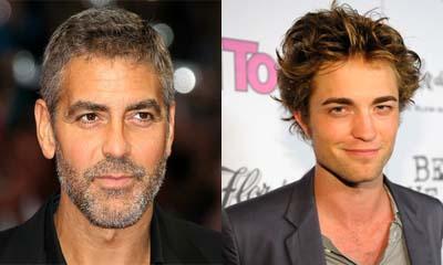 George Clooney sous le charme de Robert Pattinson !