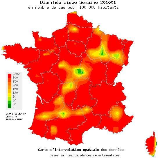 Attention à la gastro-entérite ! 568 cas ressencés en Corse