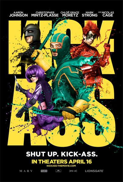 Kick-Ass : poster badass !