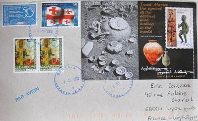 Superbe courrier de Géorgie