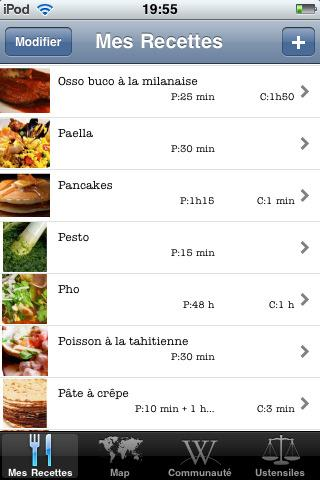 [Application IPA] Exclusivité EuroiPhone : OpenChef 1.0