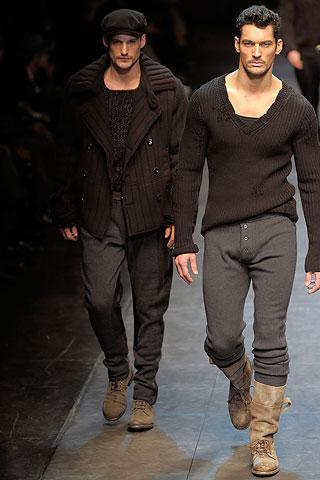 Le défilé Dolce & Gabbana homme automne hiver 2010-2011