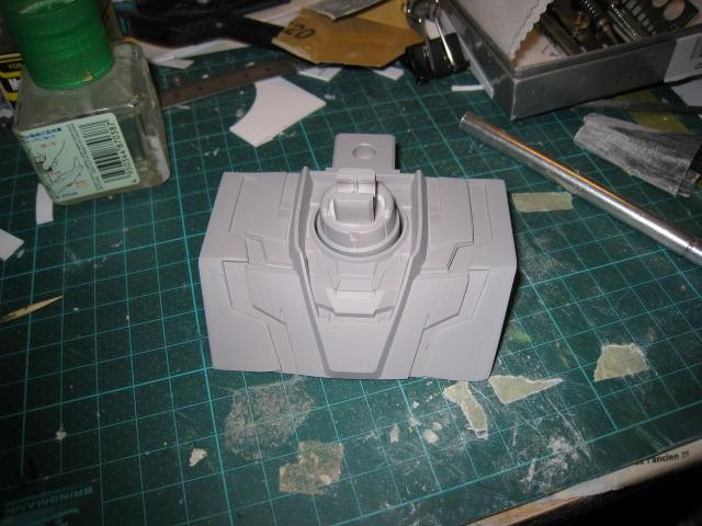 [Plamo] Unicorn Gundam head 1/48 WIP