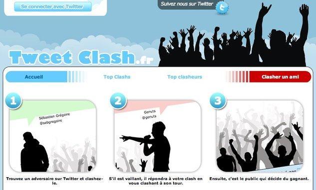 TweetClash - Le nouveau sport de combat à la mode ?